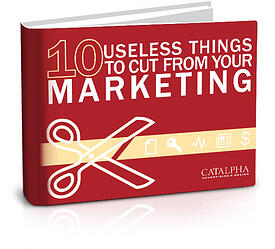 FREE RESOURCE ---> 10 Useless Things to Cut From Your Marketing Budget