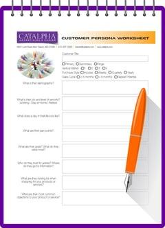 Catalpha's Customer Persona Worksheet