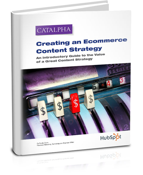 FREE RESOURCE ---> Creating a Great Ecommerce Content Strategy